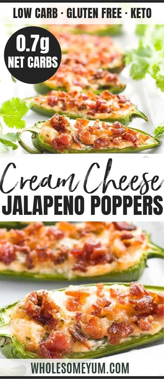 cream cheese jalapeno popper recipe - pinterest