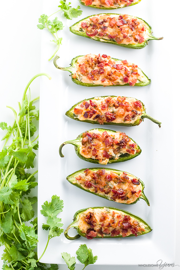 bacon cream cheese jalapeno poppers with crispy bacon