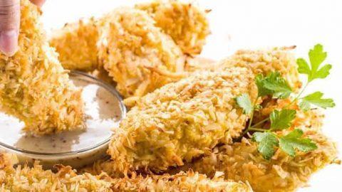 air fryer chicken tenders no breading calories