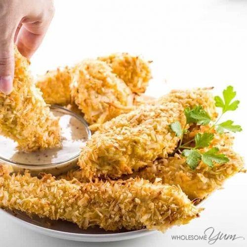 Easy Baked Coconut Chicken Tenders