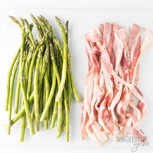 Bacon Wrapped Asparagus Recipe in the Oven (VIDEO