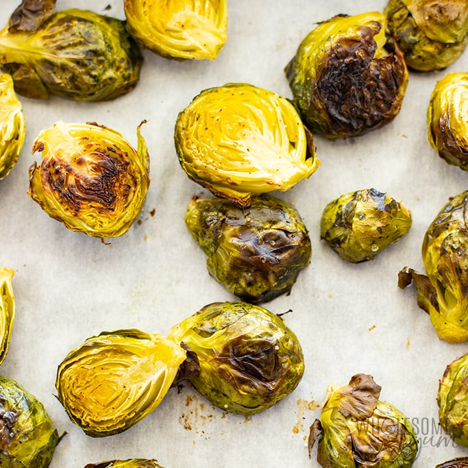 roasted keto brussels sprouts recipe