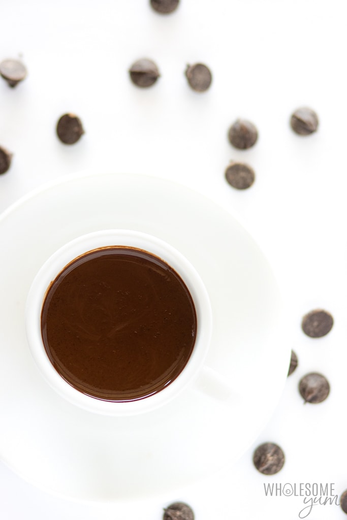 Low Carb Keto Hot Chocolate Recipe Wholesome Yum