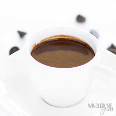 Low Carb Keto Hot Chocolate Recipe