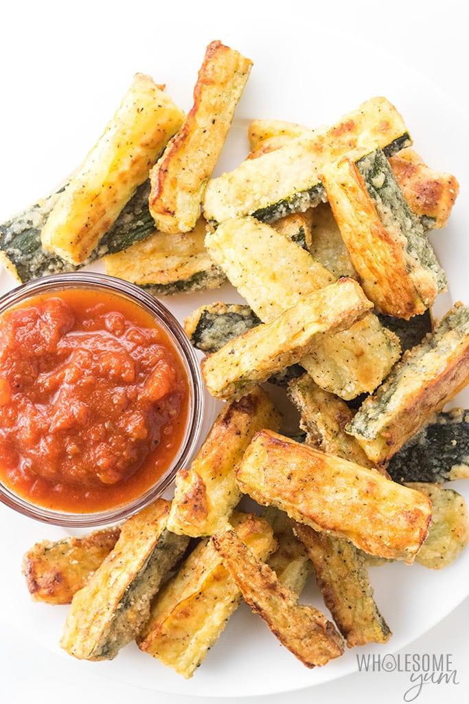 WW Baked Zucchini Fries