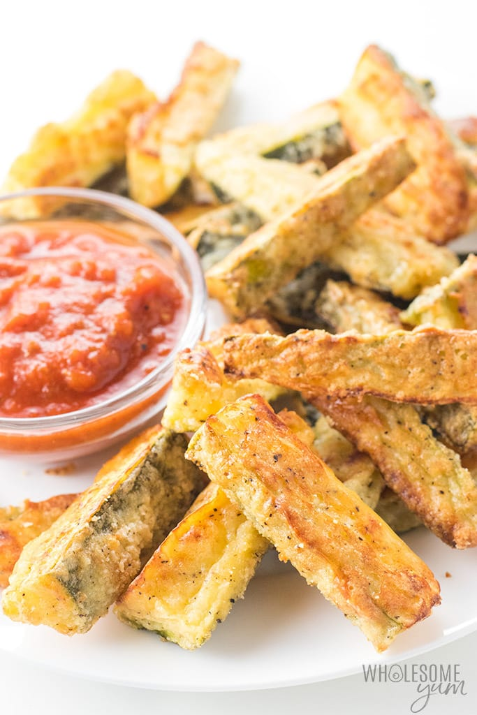 Weight Watchers Baked Zucchini Fries