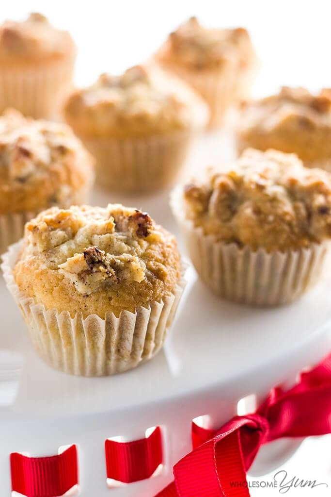 Low Carb Muffins Recipe with Vanilla Bean & Walnuts (Paleo ...