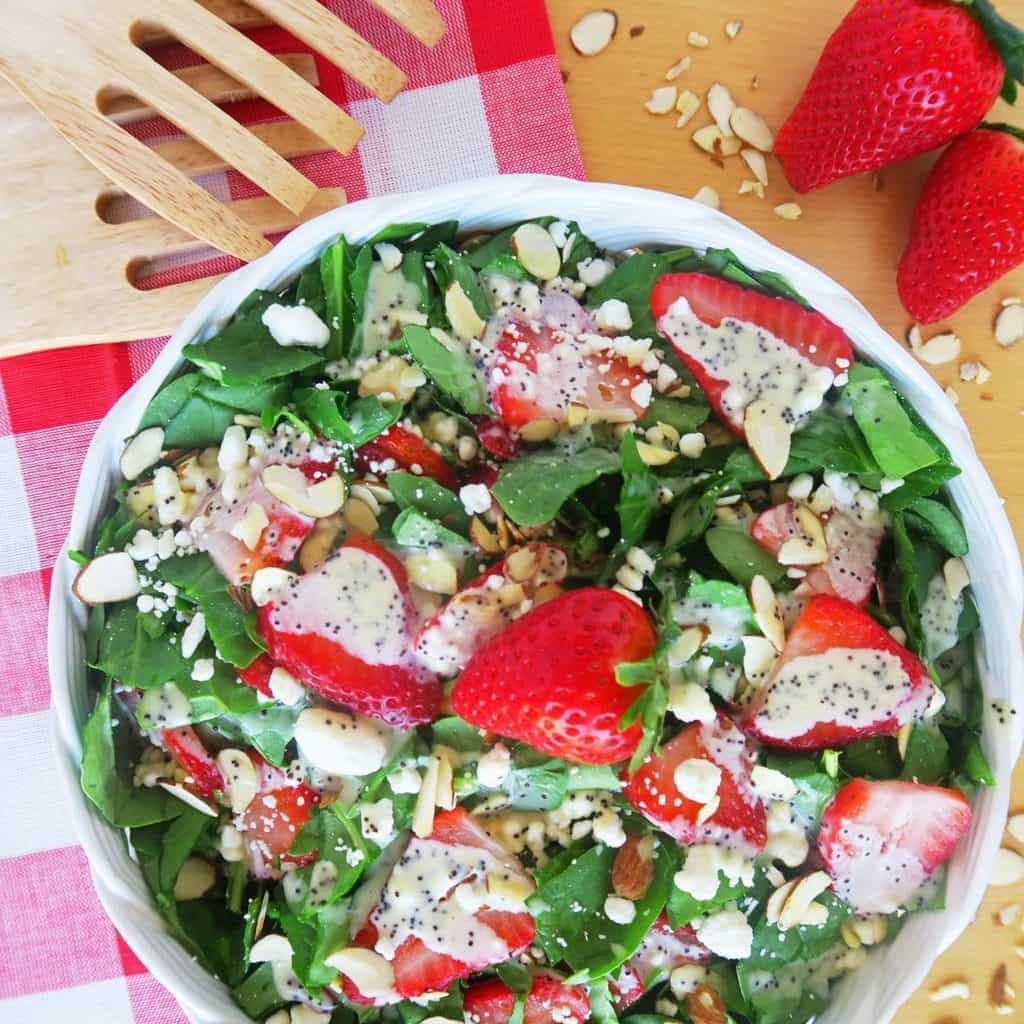 honey poppy seed dressing recipe yummly spinach salad with honey poppy ...