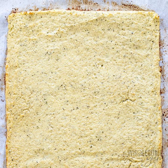 baked cauliflower breadsticks