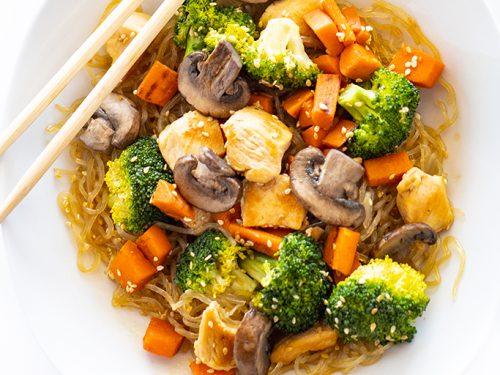 Keto Sesame Asian Kelp Noodles Recipe Wholesome Yum