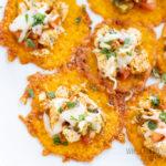 keto nachos with chicken
