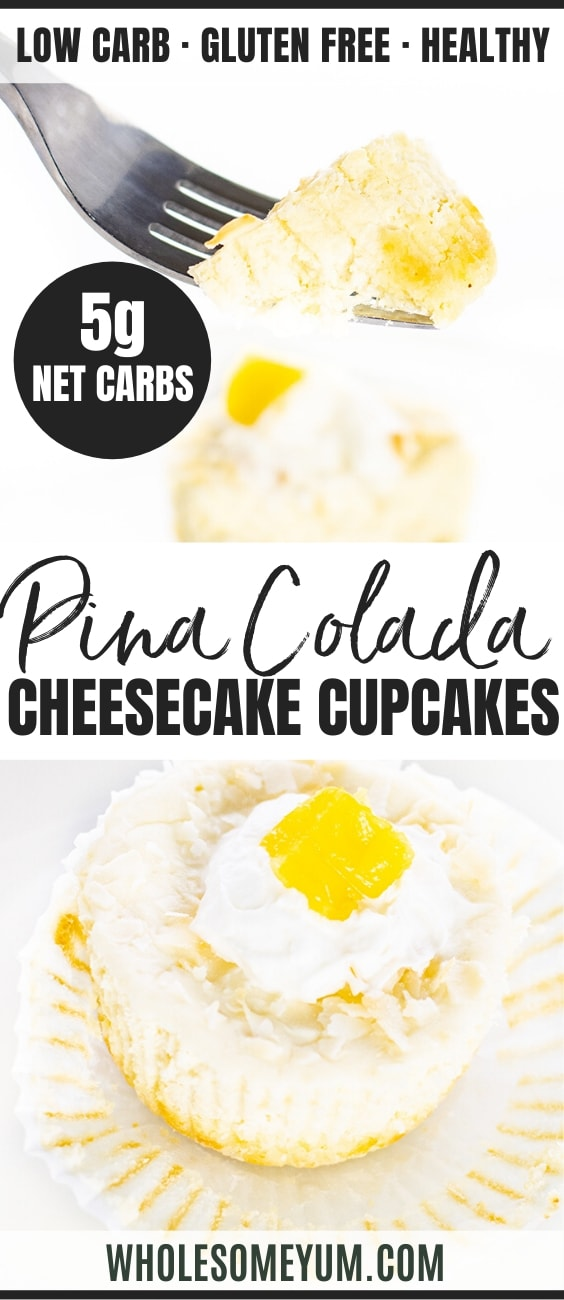 keto cheesecake cupcakes - pinterest