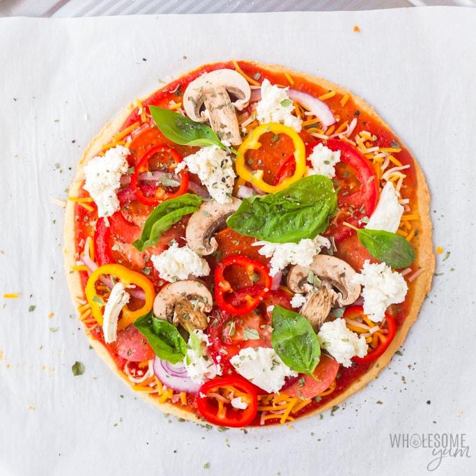 paleo pizza crust ready to bake