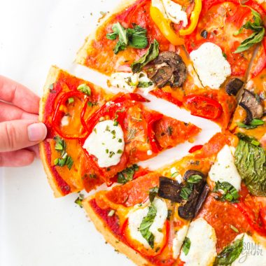 Paleo Low Carb Almond Flour Pizza Crust Recipe