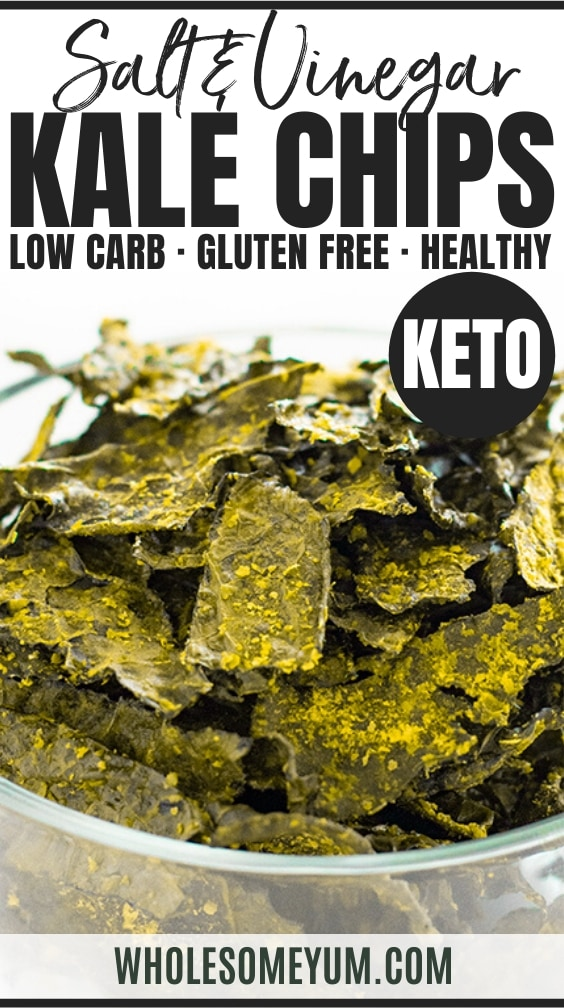 how to make kale chips - pinterest