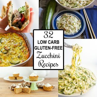 32 Low Carb Gluten-free Zucchini Recipes (Roundup)