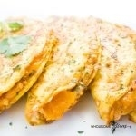 Low Carb Quesadillas with Cauliflower (Gluten-free)