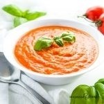 5-Ingredient Roasted Tomato Soup (Low Carb, Gluten-free)