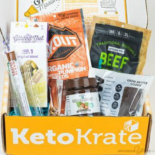 Keto Krate Low Carb Snacks Review – September 2017