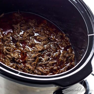 Chipotle Beef Barbacoa Recipe (Slow Cooker / Crock Pot)