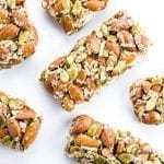 Sugar-free Granola Bars (Low Carb, Gluten-free)
