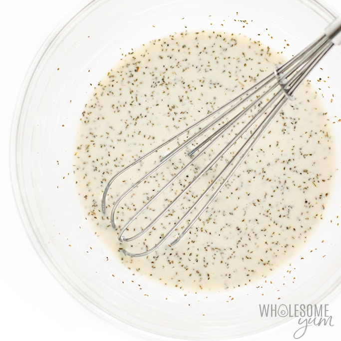 low carb coleslaw dressing