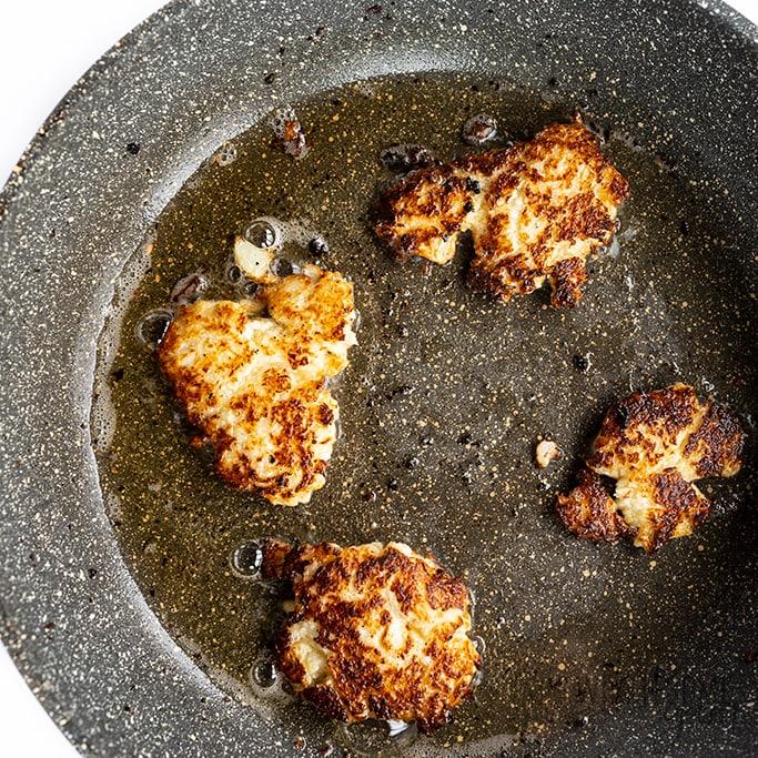 frying keto hash browns