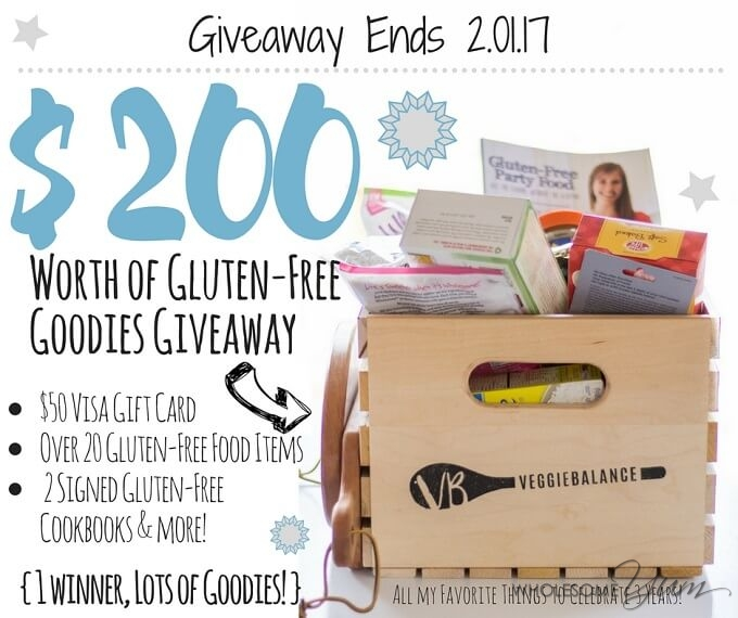 Giveaway: $200 Worth of Gluten-Free Goodies