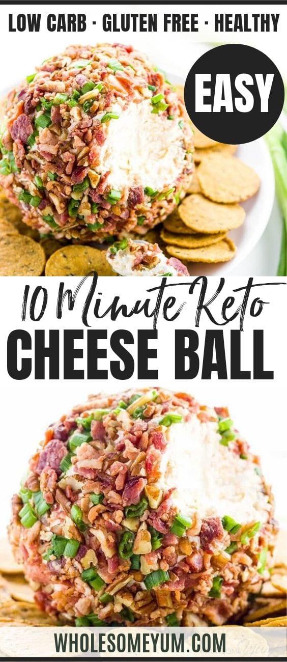cream cheese ball - Pinterest image