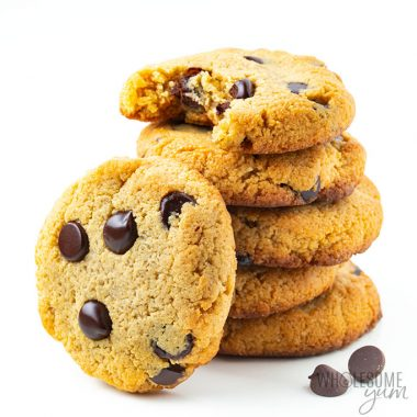 Low Carb Keto Chocolate Chip Cookies Recipe With Almond Flour