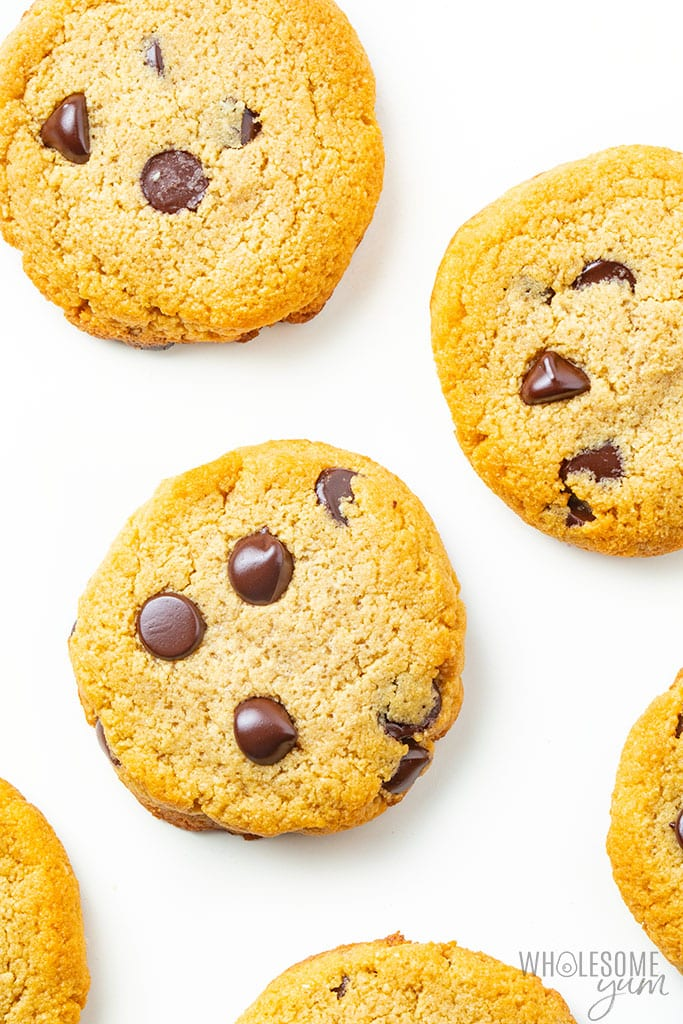 The Best Low Carb Keto Chocolate Chip Cookies Recipe With Almond Flour