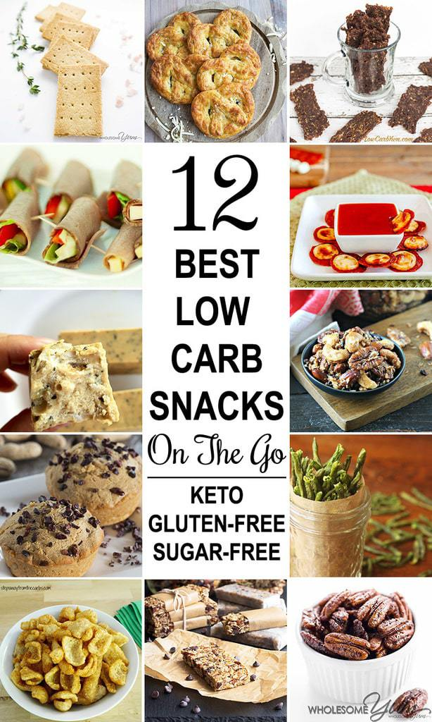 The 12 absolute best keto low carb snacks on the go! They're all quick and simple to make ahead, plus easy to take with you anywhere in an instant.
