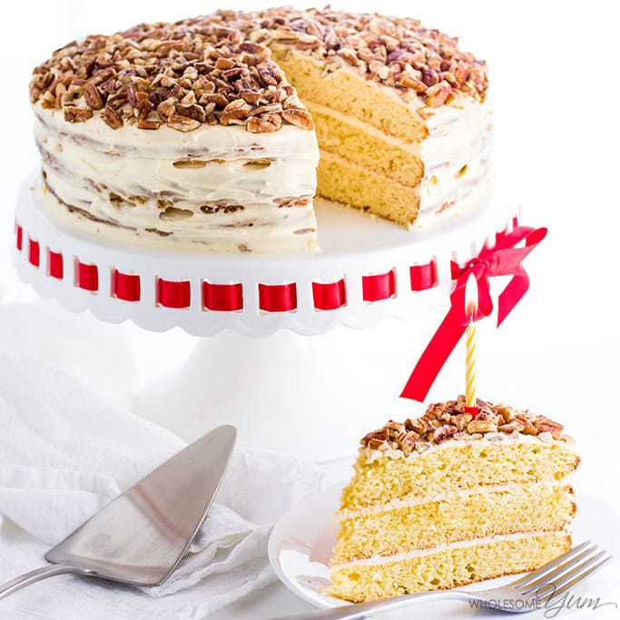 No Carb Birthday Cake Recipe