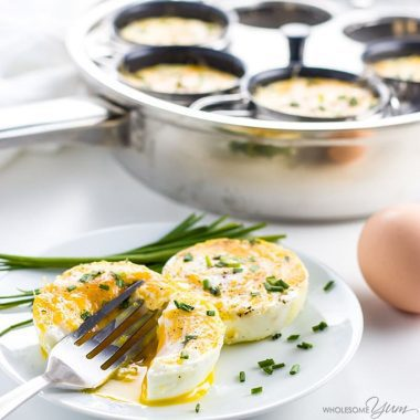 Coddled Egg Recipe - How To Make Coddled Eggs in 5 Minutes - Learn how to make coddled eggs in just 5 minutes! This super easy coddled egg recipe - with optional cheddar cheese and chives - is simple, fast, and absolutely delicious.