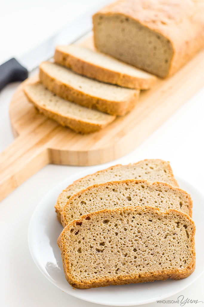Easy Low Carb Bread Recipe - Almond Flour Bread (Paleo