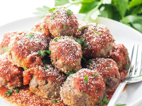 can u have meatballs on a keto diet