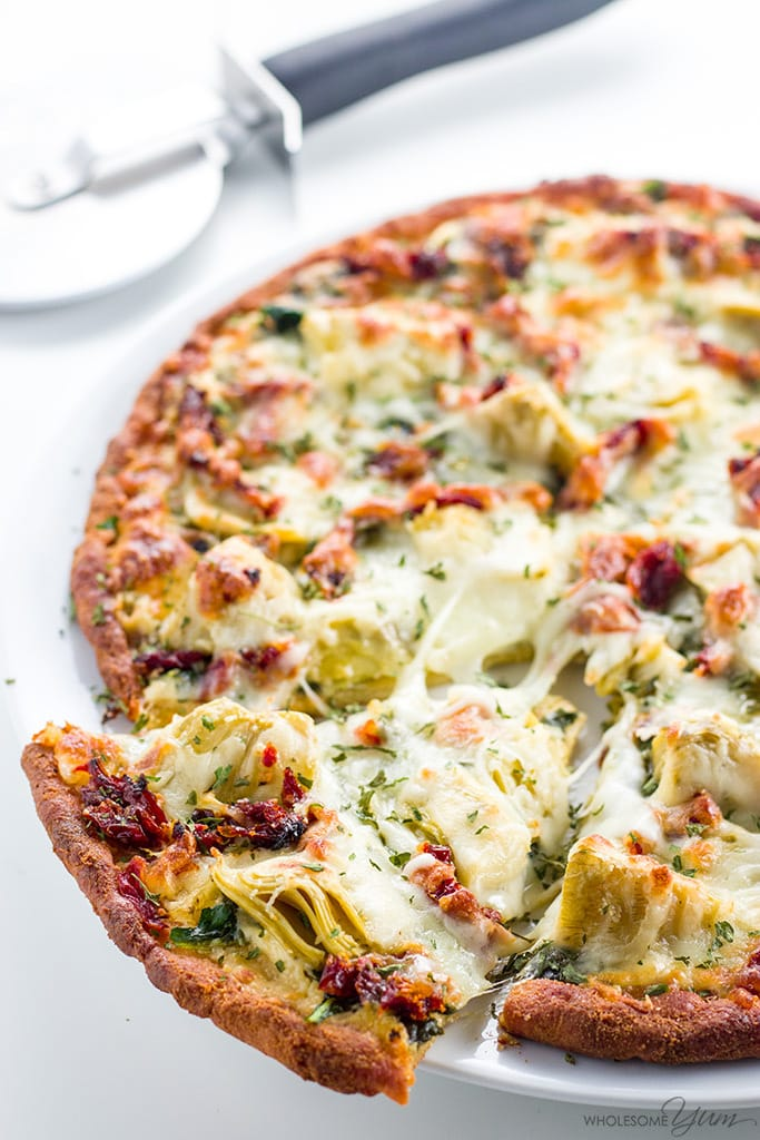 Artichoke Pizza Recipe with Spinach, Sun-Dried Tomatoes ...