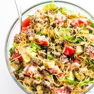 Low Carb Big Mac Salad Recipe