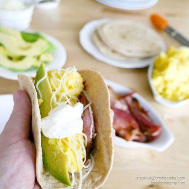 Low Carb Breakfast Fajitas Recipe (Gluten-free)