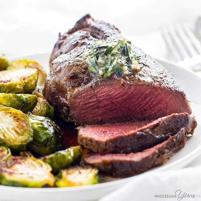 The Best Filet Mignon Recipe With Garlic Herb Butter Beef Tenderloin