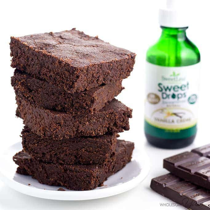 Keto Brownies Recipe (Low Carb, Gluten-free) - 6 Ingredients - This low carb keto brownies recipe is made with just 6 natural ingredients. They are dense, fudgy, and very easy to make!