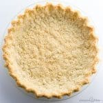 Almond Flour Pie Crust Recipe - 5 Ingredients (Paleo, Low Carb, Gluten-free)