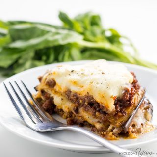 Eggplant Lasagna Recipe Without Noodles (Low Carb, Gluten-free)