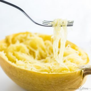How To Bake Spaghetti Squash in the Oven (Whole or Cut in Half)