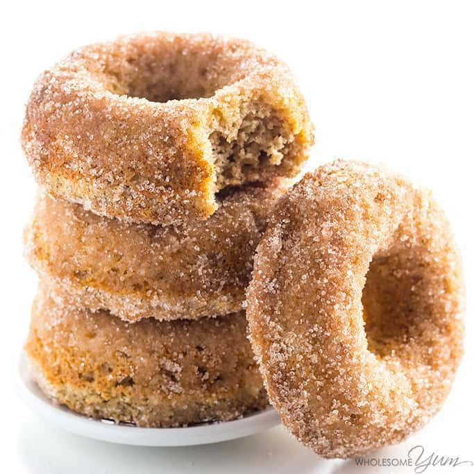 Low Carb Donuts Recipe Almond Flour Keto Donuts Paleo Gluten Free