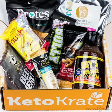 Keto Krate Low Carb Snacks Review – October 2017