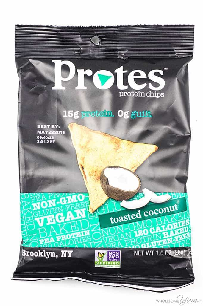 Protes Protein Chips - Toasted Coconut
