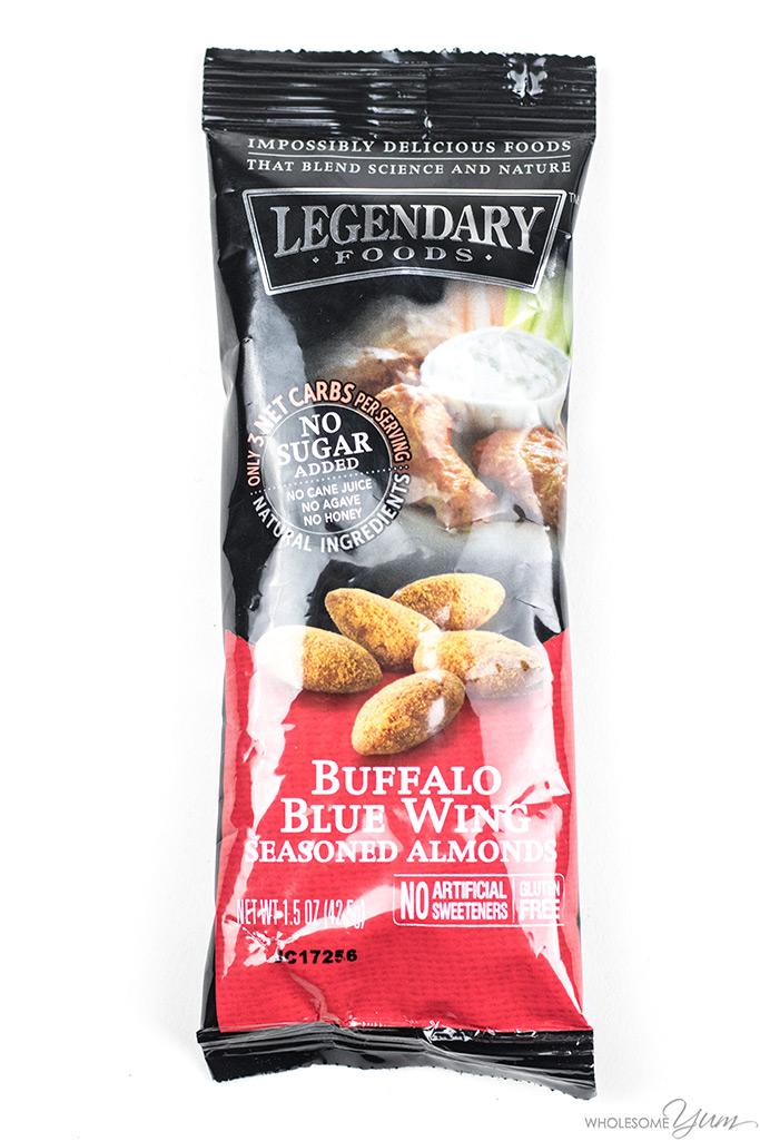 Legendary Foods Buffalo Blue Wing Seasoned Almonds