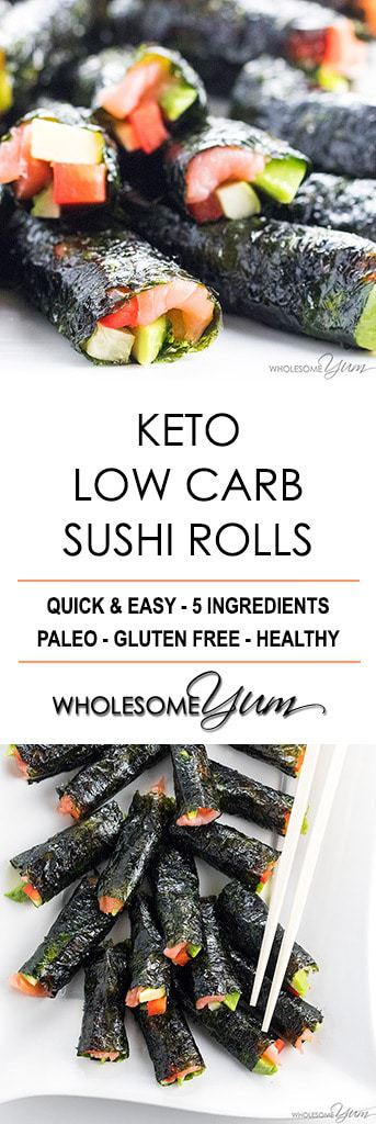 keto diet allows sushi