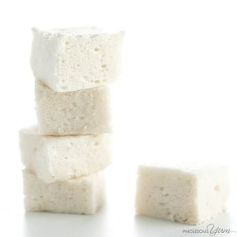 Sugar-Free Marshmallows Recipe Without Corn Syrup - You only need 4 ingredients to make homemade sugar-free marshmallows, no corn syrup needed! Detail: sugar-free-marshmallows-recipe-img-7368